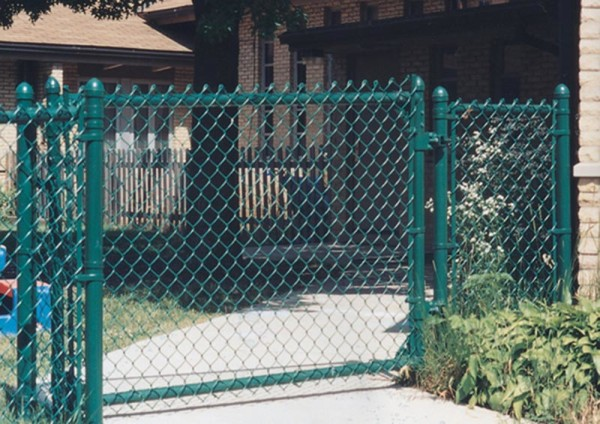 Green Vinyl Chainlink