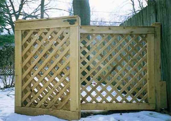 Diagonal Lattice Gate
