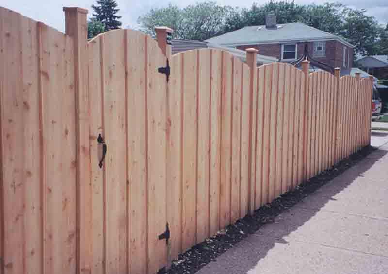 Board On Batten Wood Fence Styles Best Fence Design 2018